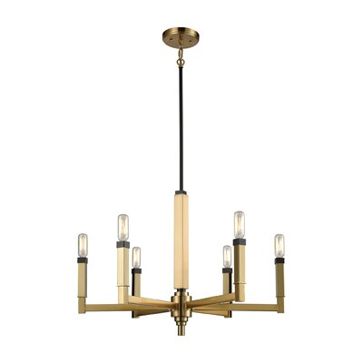 Sweetwater 6-Light Candle-Style Chandelier