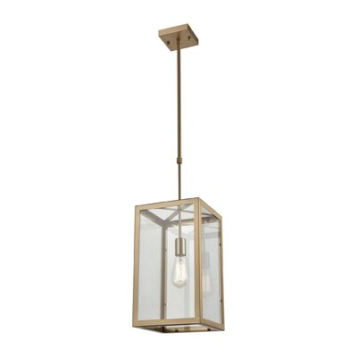 Buzzell 1-Light Foyer Pendant