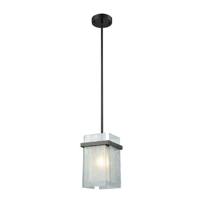 Paulsboro 1-Light Mini Pendant Base Finish: Oil Rubbed Bronze