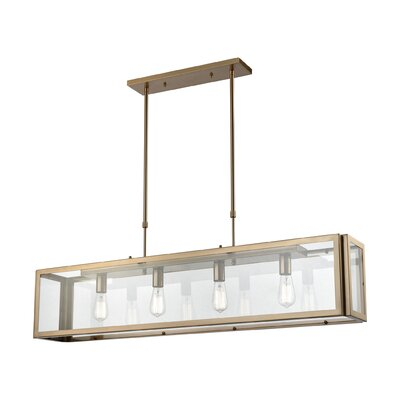 Buzzell 4-Light Kitchen Island Pendant