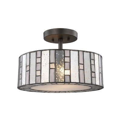 Sellersburg 2-Light Semi Flush Mount