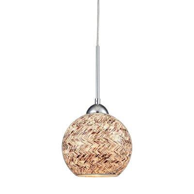 Brigham 1-Light Globe Pendant