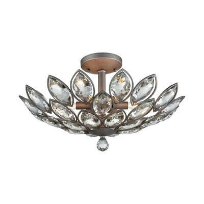 Wynn 6-Light Semi Flush Mount