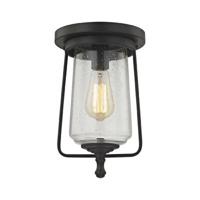 Bostwick 1-Light Flush Mount