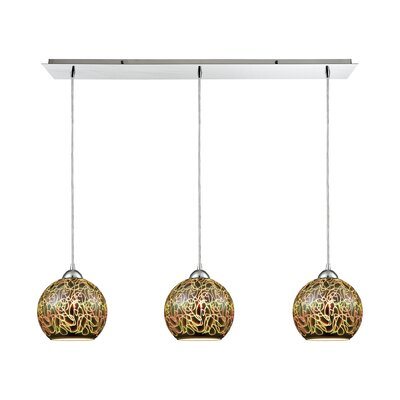 Colophon 3-Light Kitchen Island Pendant