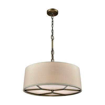 Dorcia 4-Light Drum Pendant