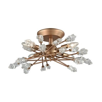 Smythe 4-Light Semi Flush Mount