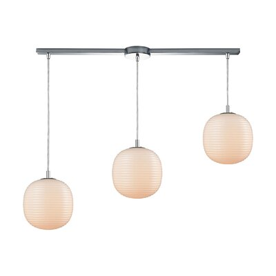 Crowder 3-Light Cascade Pendant