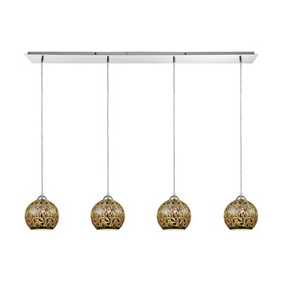 Colophon 4-Light Kitchen Island Pendant