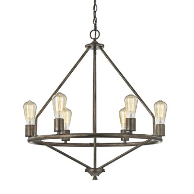 Danica 6-Light Candle-Style Chandelier