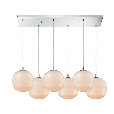 Crowder 6-Light Cascade Pendant