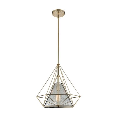 Baillargeon 1-Light Foyer Pendant