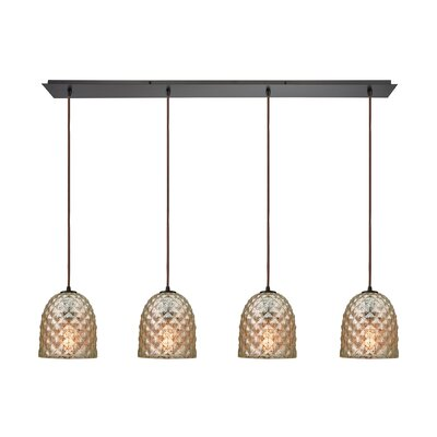 Arjean 4-Light Kitchen Island Pendant