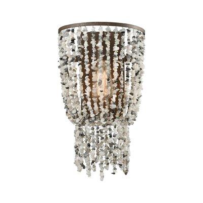 Stanton Glass 1-Light Flush Mount
