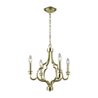 Harry 4-Light Candle-Style Chandelier