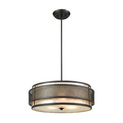 Ponce 3-Light Drum Pendant