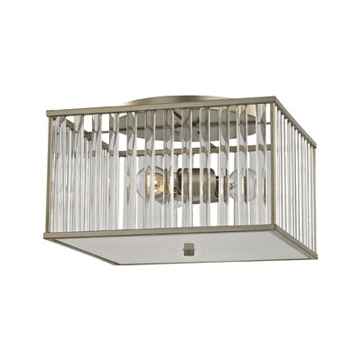 Bently 3-Light Semi Flush Mount