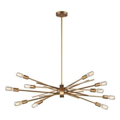 Byler 10-Light Sputnik Chandelier
