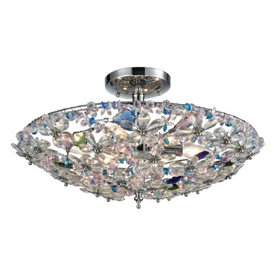 Saint-Pierre 6-Light Semi Flush Mount