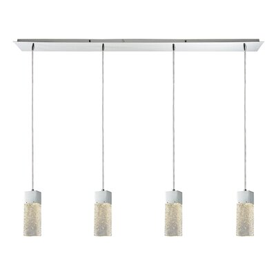 Minard 4-Light Kitchen Island Pendant