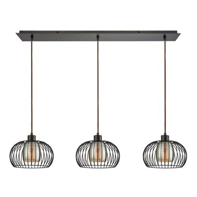 Dublin 3-Light Kitchen Island Pendant