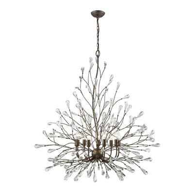 Mailiah 9-Light Crystal Chandelier