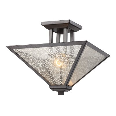 Bryar 2-Light Semi Flush Mount