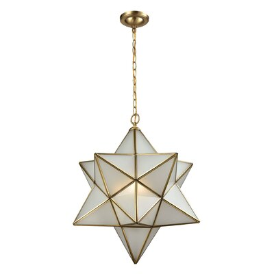 Bottrell 3-Light Geometric Pendant