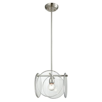 Eastampton 1-Light Geometric Pendant