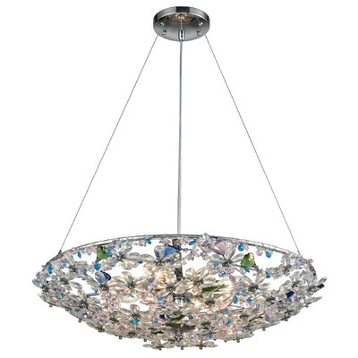 Saint-Pierre 8-Light Bowl Pendant