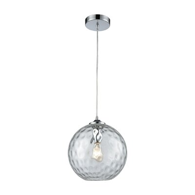Rotterdam 1-Light Globe Mini Pendant Shade Color: Clear