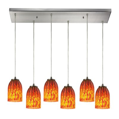Rayne 6-Light Kitchen Island Pendant