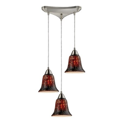 Reina 3-Light Cluster Pendant