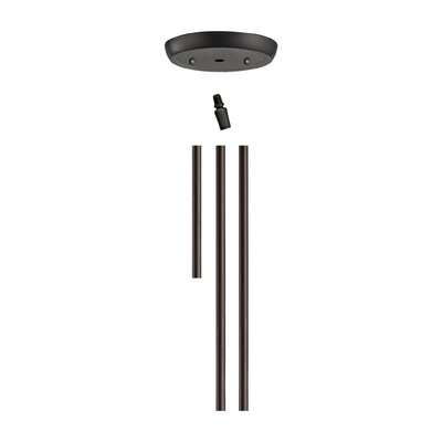 Illuminaire Extension Rod Kit Finish: Oil Rubbed Bronze