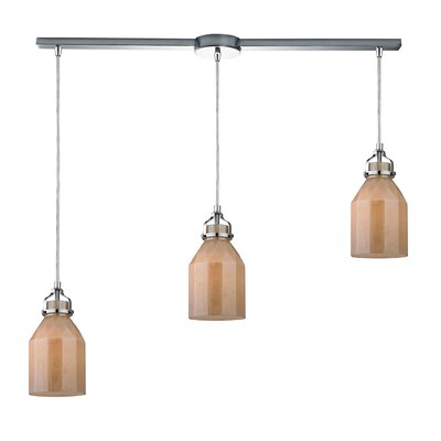 Guglielmo 3-Light Kitchen Island Pendant