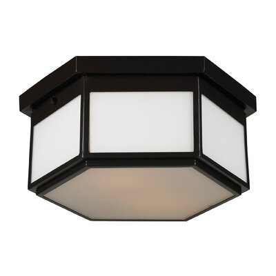 Burnvale 2-Light Flush Mount