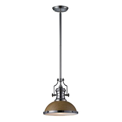 Shameeza 1-Light Mini Pendant Bulb Type: Incandescent