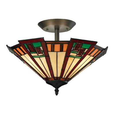 Boudreau 3-Light Semi Flush Mount