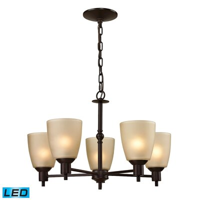 Willoughby 5-Light Candle-Style chandelier