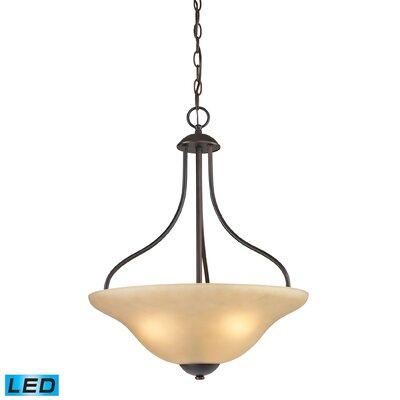 Cheyney 3-Light LED Bowl Pendant