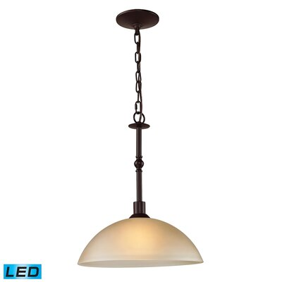 Willoughby 1-Light LED Inverted Pendant