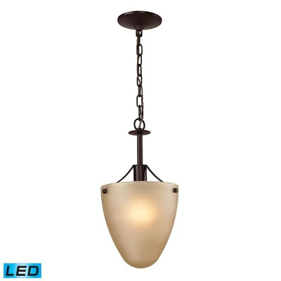 Willoughby 1-Light LED Mini Pendant Fixture Finish: Oil Rubbed Bronze