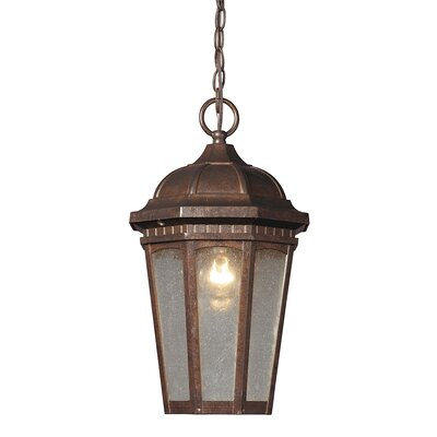 Weissinger 1-Light Lantern Pendant