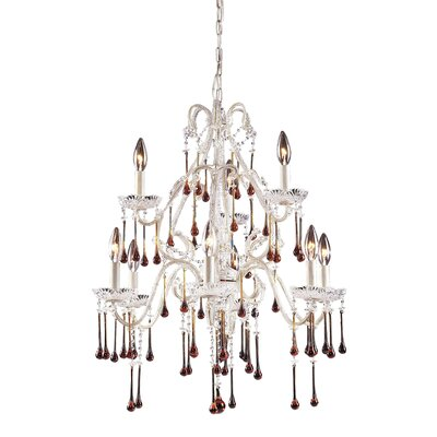 Driffield Traditional 9-Light Crystal Chandelier