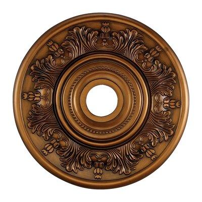 Laureldale Medallion Size / Finish: 20.5 / Antique Brass