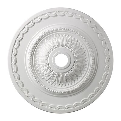 Ceiling Medallion Finish: White