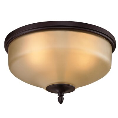 Willoughby 3-Light LED Flush Mount Finish: Oil Rubbed Bronze
