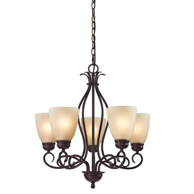 Susanna 5-Light LED Candle-Style chandelier