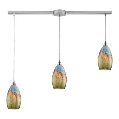 Noi 3-Light Linear Pendant