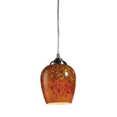Claudio 1-Light Pendant Bulb Type: LED